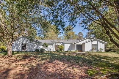 Haughton Single Family Home For Sale: 100 Holly Ridge Drive