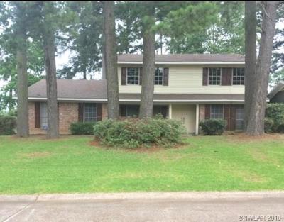 Shreveport LA Single Family Home For Sale: $239,900