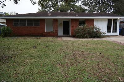 Shreveport Single Family Home For Sale: 745 Acklen Street