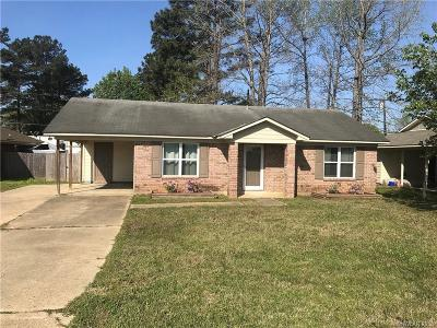 Haughton Single Family Home For Sale: 424 N Elm Street