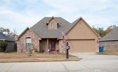 Haughton Single Family Home For Sale: 133 Bent Tree Loop