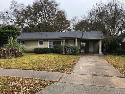 Bossier City Single Family Home For Sale: 2616 Oakley Street