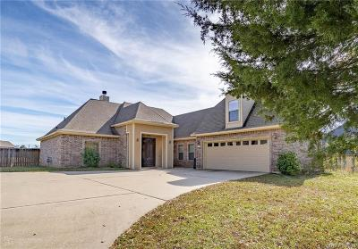 Haughton Single Family Home For Sale: 433 Dogwood South Lane