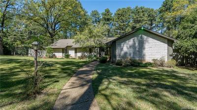 Shreveport Single Family Home For Sale: 1240 Leonard Road