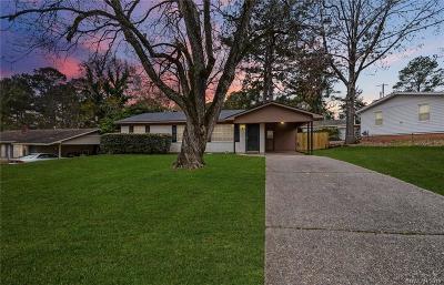 Shreveport Single Family Home For Sale: 851 Fairlawn Drive