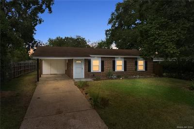 Bossier City Single Family Home For Sale: 4603 Okeefe Street