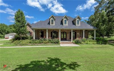 Shreveport Single Family Home For Sale: 7847 Oak Creek Trail