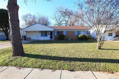 Bossier City Single Family Home For Sale: 3213 Bistineau Drive
