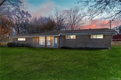 Keithville Single Family Home For Sale: 6091 Colquitt Road