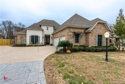 Bossier City Single Family Home For Sale: 772 Dumaine Drive