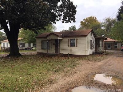 Bossier City Multi Family Home For Sale: 703 Saint Charles Street