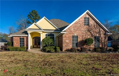 Haughton Single Family Home For Sale: 1913 Honeytree Trail