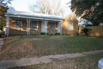 Shreveport Single Family Home For Sale: 3550 Judson Street