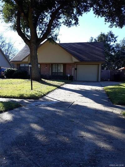 Shreveport LA Single Family Home For Sale: $105,900