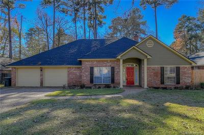 Benton Single Family Home For Sale: 109 Hilton Head Drive