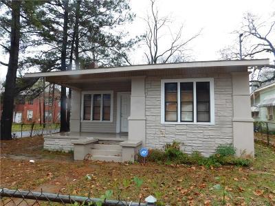 Shreveport LA Single Family Home For Sale: $54,900
