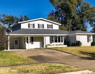 Shreveport LA Single Family Home For Sale: $193,500