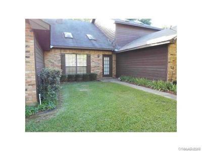 Shreveport LA Condo/Townhouse For Sale: $85,000