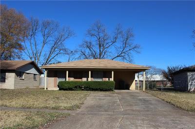 Bossier City Single Family Home For Sale: 1416 La Don Drive