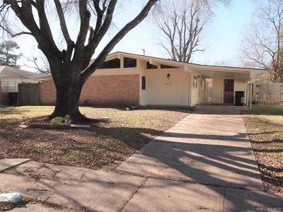 Bossier City Single Family Home For Sale: 1617 Dudley Lane