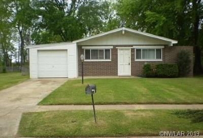 Bossier City Single Family Home For Sale: 4722 Bruce Street