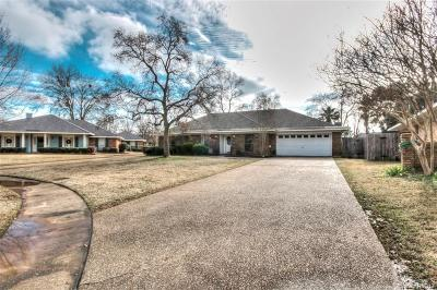 Bossier City LA Single Family Home For Sale: $210,000