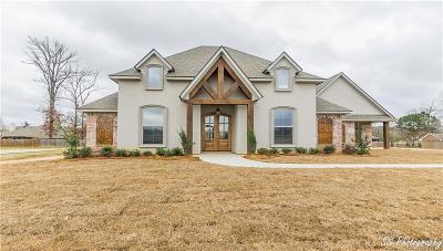 Haughton Single Family Home For Sale: 809 Limestone