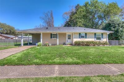 Shreveport Single Family Home For Sale: 2713 Sevier Street