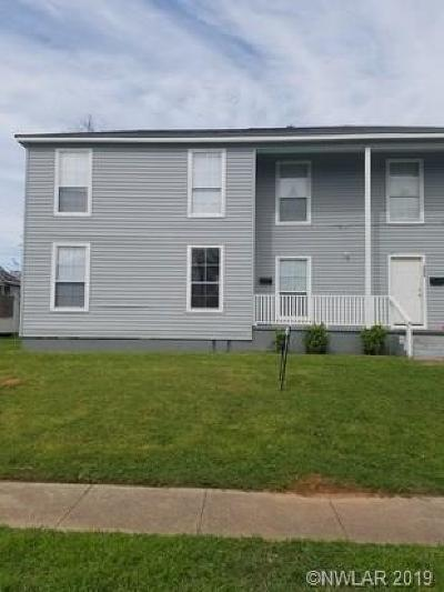 Bossier City Multi Family Home For Sale: 1271 Estelle Street