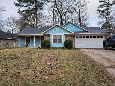 Haughton Single Family Home For Sale: 3517 Woodvine Circle