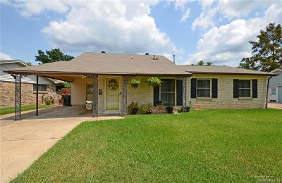 Bossier City Single Family Home For Sale: 3407 Oleander Place