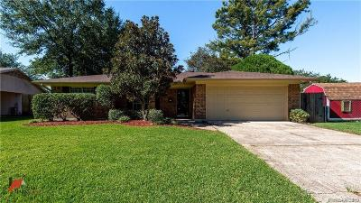 Bossier City Single Family Home For Sale: 1902 Orbit Drive