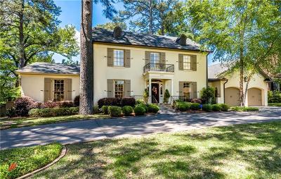 Shreveport Single Family Home For Sale: 4740 Fairfield Avenue
