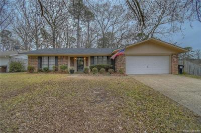 Haughton Single Family Home For Sale: 3431 Ginger Drive