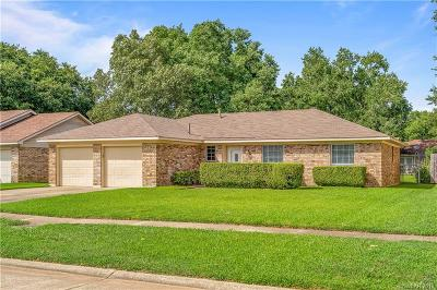 Bossier City Single Family Home For Sale: 3511 Lanell Drive