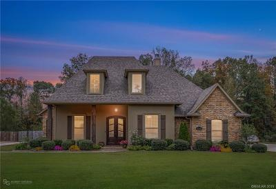 Haughton Single Family Home For Sale: 1910 Highpoint Place