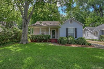 Shreveport LA Single Family Home For Sale: $145,000