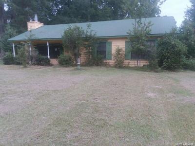 Haynesville LA Single Family Home For Sale: $54,900
