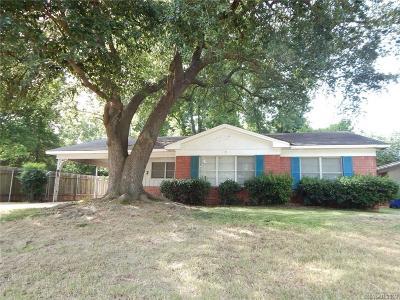 Shreveport LA Single Family Home For Sale: $89,500