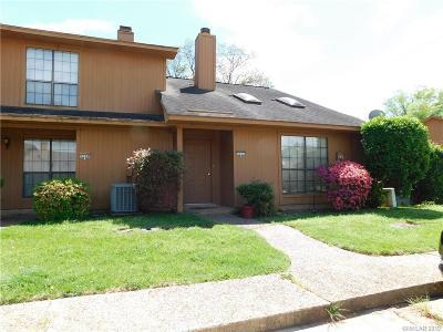 Shreveport LA Condo/Townhouse For Sale: $103,000