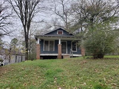 Shreveport LA Single Family Home For Sale: $14,500