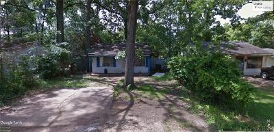 Shreveport LA Single Family Home For Sale: $12,000