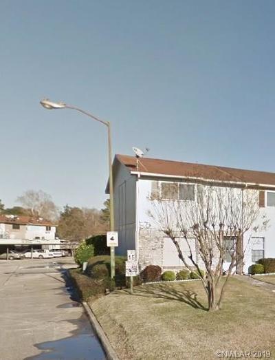 Bossier City LA Condo/Townhouse For Sale: $68,000
