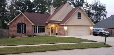 Haughton Single Family Home For Sale: 434 Cross Drive