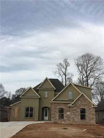 Haughton Single Family Home For Sale: 919 Antler Drive
