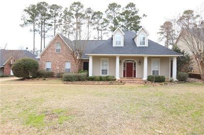 Shreveport Single Family Home For Sale: 2914 Chardonnay
