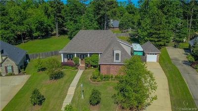 Haughton Single Family Home For Sale: 349 Dogwood South Lane