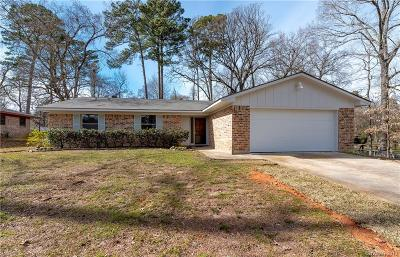 Haughton Single Family Home For Sale: 3612 Eliga Drive