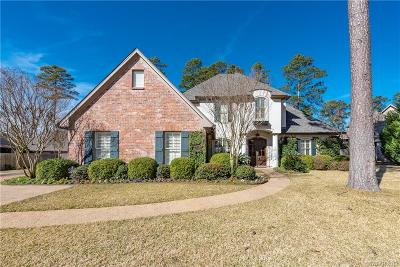 Shreveport Single Family Home For Sale: 1115 Waters Edge Circle