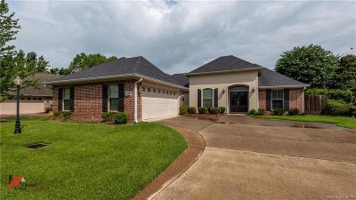 Bossier City Single Family Home For Sale: 141 Rosemont Place